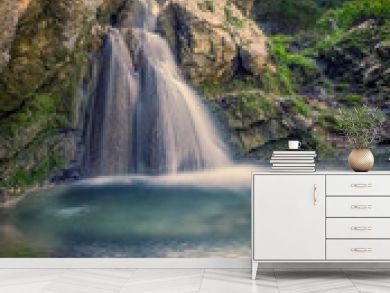 Surreal Tropical waterfall