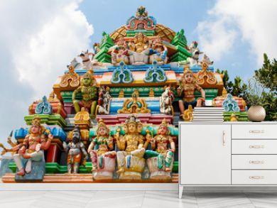 Kapaleeswarar temple in Chennai, India