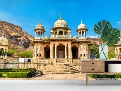 Royal Gaitor, a cenotaph in Jaipur - Rajasthan, India