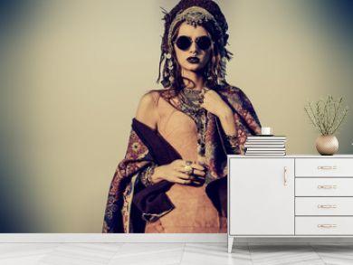 magnificent fashion woman