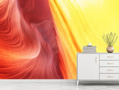 Abstract background. Canyon Antelope, Colorful and famous slot Canyon. Travel concept.